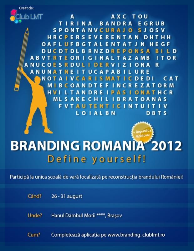 Afis Branding Romania 2012
