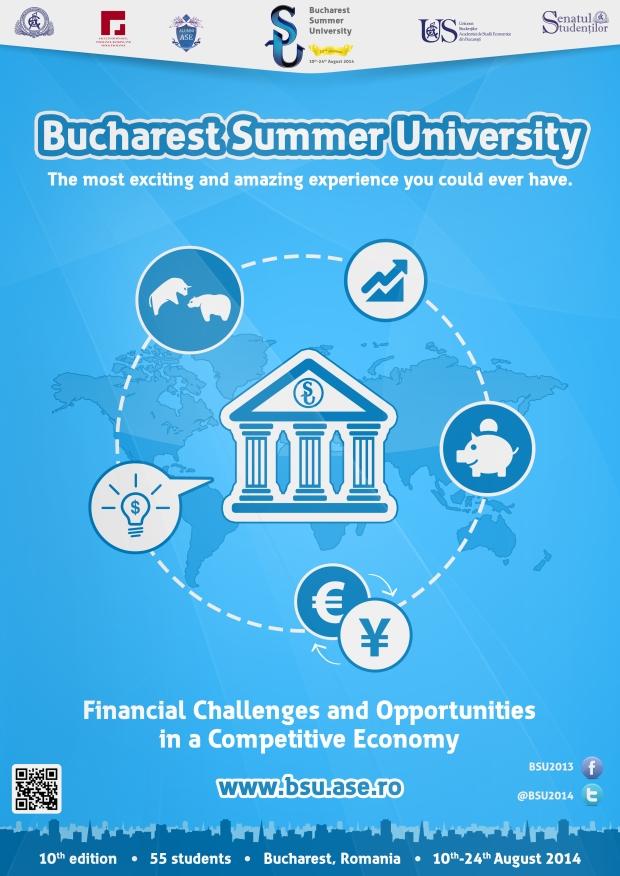 Afis Bucharest Summer University 2014