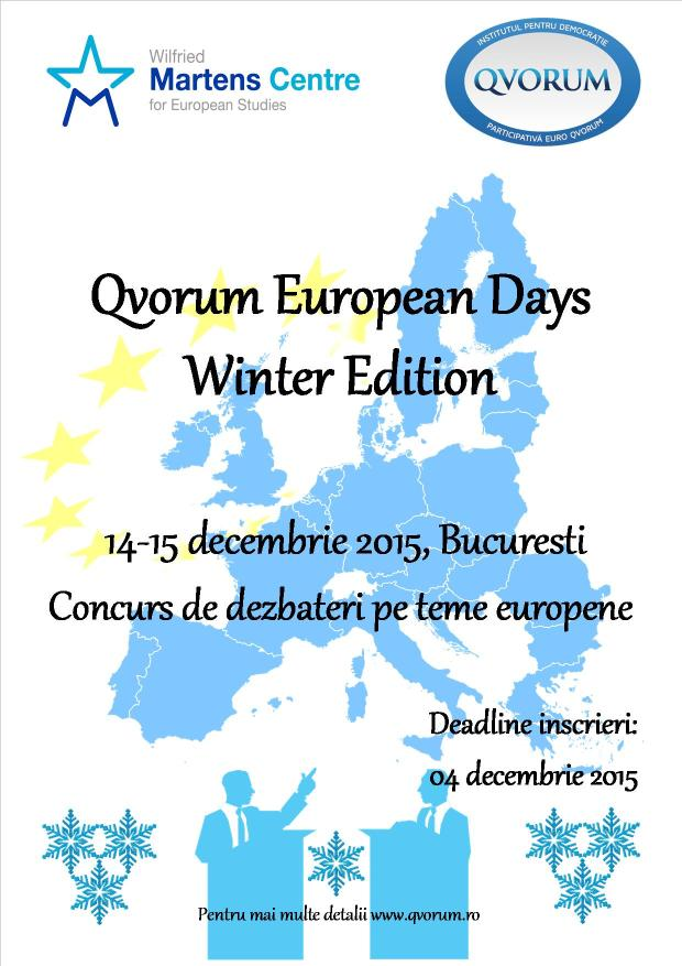 QED Winter Edition